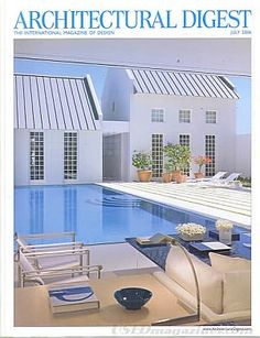 Architectural Digest July 2006