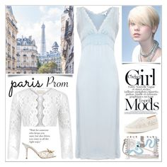 """""""Paris Prom Dress"""" by yours-styling-best-friend ❤ liked on Polyvore featuring Dolce&Gabbana, Ghost, Monsoon and Antonio Melani"""