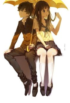 Hyouka!  I need to watch this anime
