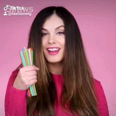 Easy Makeup, Simple Makeup, Curly Hair With Straws, Straw Curls Tutorial, Curled Hairstyles, Diy Hairstyles, Alphabet Tattoo Designs, Confidence Boost, How To Curl Your Hair