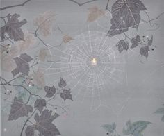 Kotaro ISOBE Biotope.Spiderweb ビオトープ、クモの巣