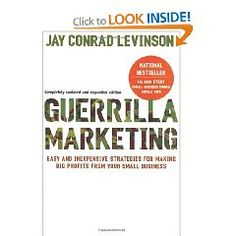 One of my favorite business books. A must read for marketers and business owners