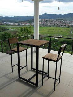Compre Mesa Decorepallet Nunca Usado no enjoei :p 1 Mesa e 2 Banquetas estilo industrial Rústico com estrut.... Código: 24850229