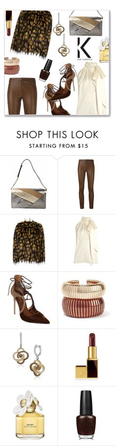 """""""Karl Lagerfeld Clutch Contest"""" by jckallan ❤ liked on Polyvore featuring Karl Lagerfeld, TonyCohen, Dries Van Noten, Yves Saint Laurent, Le Silla, Rosantica, LeVian, Tom Ford, Marc Jacobs and OPI"""