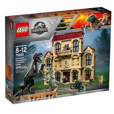 LEGO 75930 Jurassic World Fallen Kingdom Indoraptor Rampage at Lockwood Estate Lego Jurassic Park, Jurassic World Set, Jurassic World Fallen Kingdom, Lego Jurassic World Dinosaurs, Lego Dinosaur, Falling Kingdoms, Lego Batman, Hobby World, Buy Lego