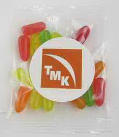 "1oz. Mike & Ike (R) Goody Bag. Perfect for parades, trade shows or any event where you want to give an inexpensive, colorful and delicious treat. Select from a 1-4 spot color direct imprint or a 1-4 color process label for the same price! Direct imprint bag dimensions: 4.929"" x 2.5"". Labeled bag dimensions: 3"" x 4"". Non melt product."