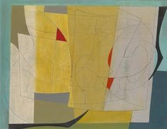 Ben Nicholson (1894-1982). February 26th 1952 (Lime Green), 1952 - Pictify - your social art network