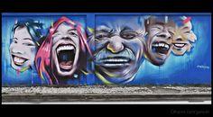 Olhares.com Fotografia | �Marina Aguiar | GRAFFITI N. 303: HAJA ALEGRIA! (3)
