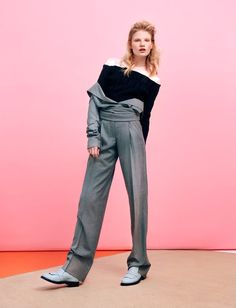visual optimism; fashion editorials, shows, campaigns & more!: office playground: eleonora baumann by jolijn snijders for elle netherlands august 2014