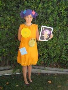 "Homemade ""Dolly"" Costume from ""Toy Story 3"""