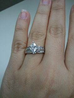 Lets see your Marquise rings!! - Weddingbee