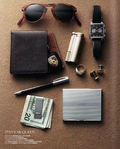 Steve McQueen's pocket contents