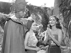 Lon Chaney Jr and Maria Montez-COBRA WOMAN (1944)