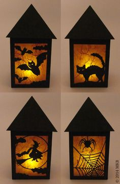 Halloween-Laterne | Miri's Kreativblog