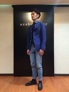 » snap DENIM⑤Italian MATSUDA&B新宿South店   パーソナルオーダースーツ・シャツの麻布テーラー   azabu tailor