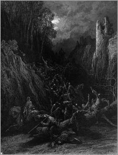 Gustav Dore - Idylls of the King