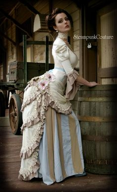 Nicely reminiscent of victorian fashion, even while mixing in other eras.