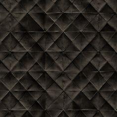 Elitis Pleats Ex Libris Paper Wallpaper, Black Wallpaper, Wallpaper Backgrounds, Ex Libris, Black House, Antiques, Boulle, Folded Up, Designer Wallpaper