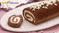 Ricetta Rotolo al cacao con crema al cioccolato bianco - Le Ricette di GialloZafferano.it