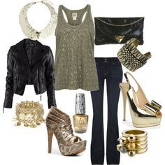 Vegas Outfit, created by sbarrett0127.polyvore.com