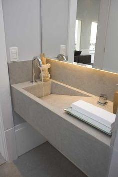 cubas esculpidas; banheiros com cubas esculpidas; ideia de cubas esculpidas para lavabo; ideia de cubas escupidas para banheiros; banheiros com cubas