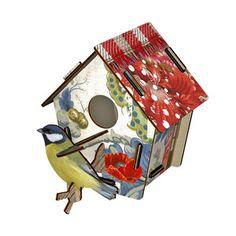 Deko-Vogelhaus Poppy Seed, 19,90€, jetzt auf Fab.