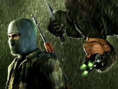 Deadline is reporting that Paramount Pictures and UbiSoft (the game developer) are in talks on developing a movie based on the Sam Fisher lead SPLINTER CELL series. The idea of a SPLINTER CELL movi… Tom Clancy's Splinter Cell, Splinter Cell Games, Splinter Cell Chaos Theory, Splinter Cell Pandora Tomorrow, Sunset Overdrive, Star Ocean, Memes, Prince Of Persia, Film Inspiration