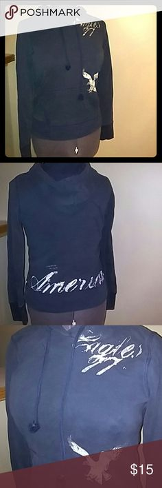 American Eagle Hoodie No stains or rips. In good condition.  Fast shipper! American Eagle Outfitters Tops Sweatshirts & Hoodies