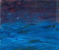 Dark Sea (sketch), oil on paper 2011
