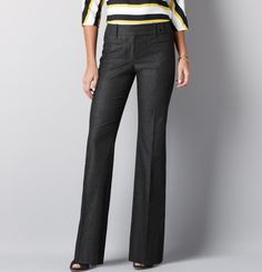"35 1/2"" inseam dress pants at LOFT"