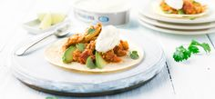 Philadelphia Recipe - Chicken Chipotle tortillas with Philadelphia