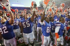 Florida Gators celebration!