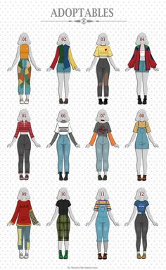 Fashion drawing clothes style character design ideas for 2019 Anime Outfits, Mode Outfits, Retro Outfits, Trendy Outfits, Vintage Outfits, Female Outfits, School Outfits, Fashion Design Drawings, Fashion Sketches