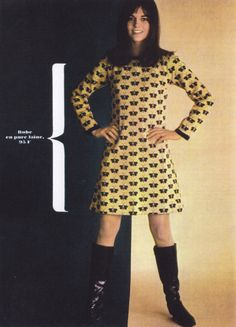 Mini-dress Fashion 1960s