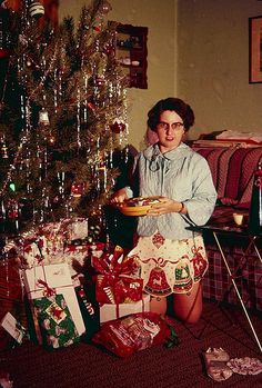 A 1950s Christmas without pants!