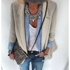 Vintage Glamour Statement Necklace #outfit #ootd #fashion #style #necklace - 24,90 € @happinessboutique.com