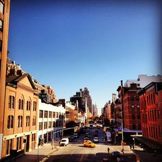 This Monday morning we're dreaming of blue skies over 14th street.