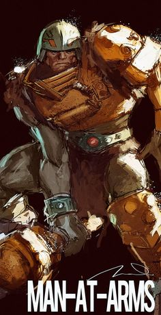 Epic Masters of the Universe Illustrations