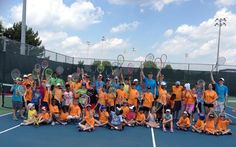 Tennis Camps with Matchpoint Tennis Tennis Camp, Summer Camps, Basketball Court, New Homes, Camping, Sports, Summer Day Camp, Campsite, Hs Sports
