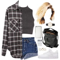 Her by demirese on Polyvore featuring R13, NIKE, Jérôme Dreyfuss, Daniel Wellington, ASOS and Byredo