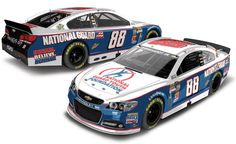 2013 DALE EARNHARDT JR #88 NATIONAL GUARD YOUTH FOUNDATION