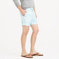 "6.5"" tab swim short in tropical floral"