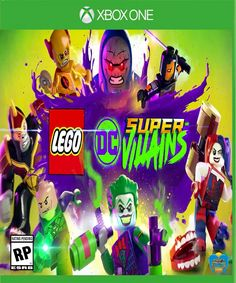 Lego DC Comics Supervillains Super Villains Bricks Game For Nintendo Switch NSW Lego Disney, Disney Pixar, Lego Games, Xbox One Games, Ps4 Games, Harley Quinn, Lex Luthor, Red Dead Redemption, Deathstroke