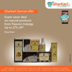 Get Upto 17% off on Passion Indulge products  Best prices now only at http://www.gharkart.com/ ‪#‎Gharkart‬ ‪#‎Onlineshopping‬ ‪#‎Groceries‬ ‪#‎homeneeds‬ ‪#‎onlinegrocery‬ ‪#‎hyperstore‬ ‪#‎hypermarket‬