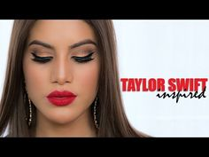 ▶ Taylor Swift Inspired Look | Celebrity Makeup How To and Tutorial | Camila Coelho - YouTube