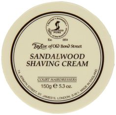 Taylor of Old Bond Street Sandalwood Shaving Cream Bowl, 5.3-Ounce Taylor of Old Bond Street,http://www.amazon.com/dp/B0007MW2ZW/ref=cm_sw_r_pi_dp_ld7Ctb0B5HYQTJMZ