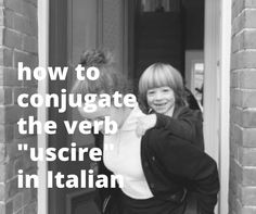 Learn how to conjugate and use the Italian verb uscire, which means to go out, through conjugation tables and examples. Italian Verbs, Italian Language, Learning Italian, Vocabulary, To Go, Study, Quotes, Qoutes, Learn Italian Language