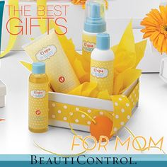 Pamper Mom and Moms-to-be with #BeautiControl's BC Spa for Baby Collection this Mother's Day!
