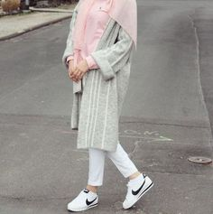 Candy colors hijab outfits – Just Trendy Girls