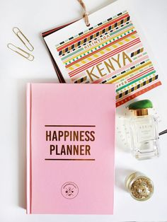 You've probably been introduced to the Happiness Planners by now; the hardback books promote positivity and aim to get you on a more optimistic path. They're journals for those who want to focus on th